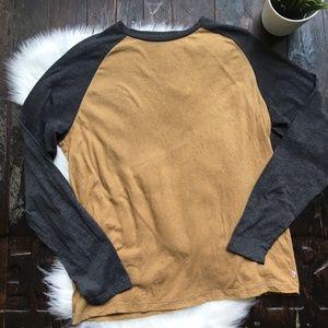 LEVI'S Baseball Tee Shirt Long Sleeve Men's XL EUC